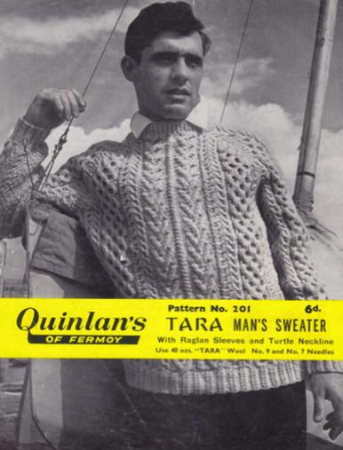 Men's Vintage Raglan Sweater