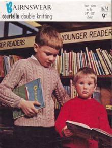 Children's Vintage Raglan Sweater
