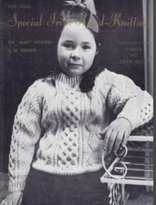 Children's Traditional Aran Stitch Sweater