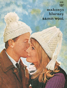 Vintage His and Hers Aran Hat