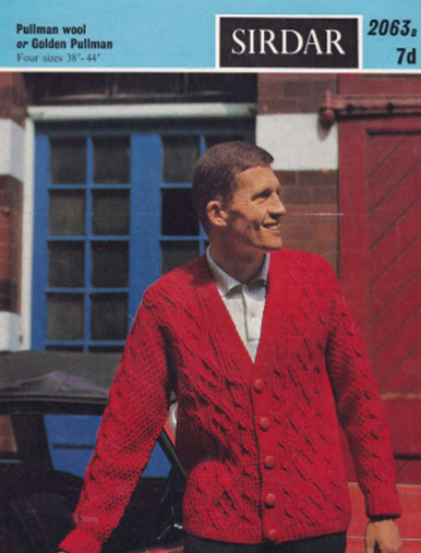 Vintage Men's Aran Isles Jacket