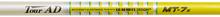 "NEW GRAPHITE DESIGN TOUR AD MT-7 STIFF FLEX GRAPHITE DRIVER SHAFT WITH .335"" TIP"