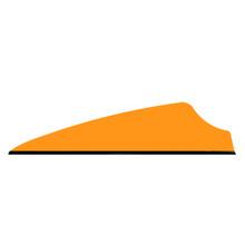 "36 Q2i Fusion X-II Neon Orange 1.75"" Target Arrow Vanes"