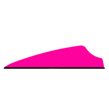 "36 Q2i Fusion X-II Neon Pink 1.75"" Target Arrow Vanes"