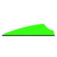 "36 Q2i Fusion X-II Neon Green 1.75"" Target Arrow Vanes"