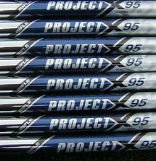 "3-PW BRAND NEW TTS TOUR ISSUE PROJECT X 95 FLIGHTED 5.5 FLEX .370"" TIP SHAFTS"