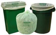 BAG COMPOST 55G 42-48-1.0 GN NTR100 100% COMPOSTBLE(GREEN)5/20ROLL