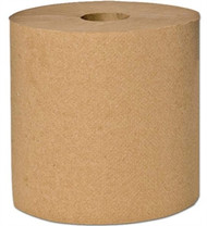 NATURAL ROLL TOWEL 8 X 600' 12 ROLLS
