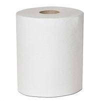 WHITE BLEACHED CELYSOFT  ROLL TOWEL 800' X 6 ROLLS PER CASE