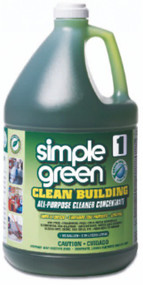 ALL PURPOSE CLEANER  SIMPLE GREEN-SEAL 2/1 CLEAN BUILDING SYSTEM 1GL=65GL