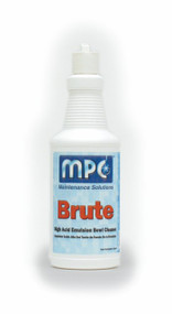 BOWL CLEANER BRUTE 24% ACID QUART HIGH ACID EMULSION 12/QTS PER CASE