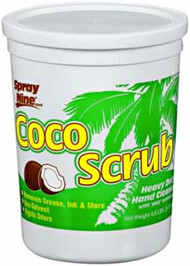 HAND CLEANER HEAVY DUTY COCO SCRUB 3.8 LB/6 PK