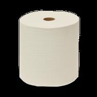 WHITE JUMBO ROLL HARD TOWEL 800' x 12 PK