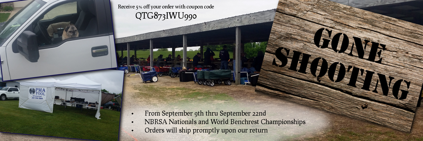 Gone Shooting - Use Coupon Code QTG873IWU990 - Sept 9-22