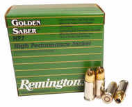 Remington Golden Saber 9x19 Ammo 147gr BJHP