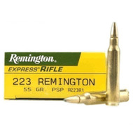 Remington Arms .223 Rem 55gr PSP