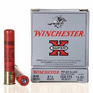"Winchester Super-X .410 2-1/2"" Rifled Slug 1/5oz"