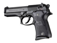 Hogue Beretta 92 Compact Auto Rubber grip Panels Black