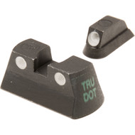 Meprolight Tru-Dot Tritium Night Sight for CZ P 75, 83 & 85 (Set - Green/Green)