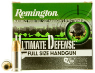 Remington Ultimate Defense Compact Handgun 9mm Luger 147gr BJHP per 20
