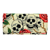 Women's skull wallet.