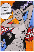 All Men Are Savages by Mike Bell Tattoo Art Print  Monster Bride of Frankenstein