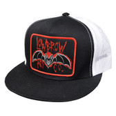 Lowbrow Bat Classic Two Tone Trucker Hat by Ian McNiel