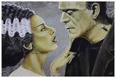 Flirtationship by Mike Bell Tattoo Fine Art Print