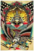 Dead Ahead by Tyler Bredeweg Tattoo Fine Art Print