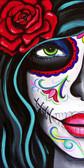 Melody Smith Green Eyes - Canvas Giclee