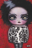 She's Alive by Abril Andrade Fine Art Print Bride of Frankenstein