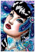 Carissa Rose Sapphire Nights Fine Art Print