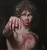 Mojo Risin by Randy Drako Canvas Giclee