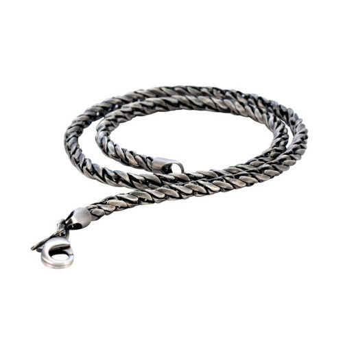 BICO Pacific Stylus Chain Pewter Necklace Tribal Surf Wear F39