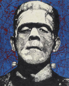 Frankenstein by Byron Canvas Giclee Art Print
