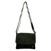 Green crossbody small purse.