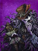 David Lozeau Voodoo Priest Canvas Giclee