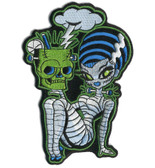 Bride of Frankenstein Embroidered Patch