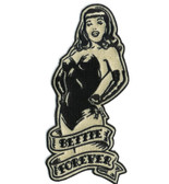 Bettie Page Forever Pin Up Girl Patch