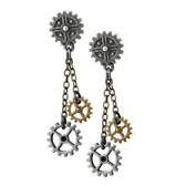 Alchemy Empire E371 Machine Head Earrings