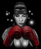 Charlie Medina Knockout Canvas Giclee