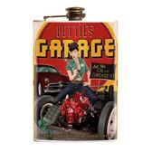Bettie Page Bettie's Garage Flask