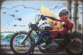 Damian Fulton Periodical Daughter Canvas Giclee