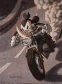 Damian Fulton Ricky Rhino Canvas Giclee