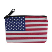 Flag coin purse.