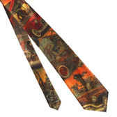 Hot Rod Zombies Men's Tie