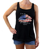 American Girl black tank top.