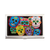 Day of the Dead card case.