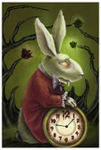 Diana Levin - Levin's White Rabbit - Fine Art Print