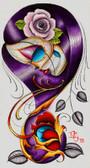 Dave Sanchez - Violet - Canvas Giclee